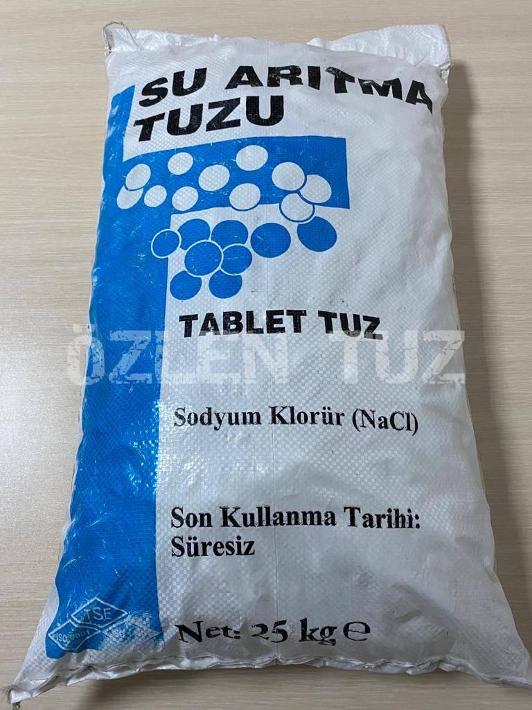 25 KG'lık Fırınlı Silindir Tablet Tuz