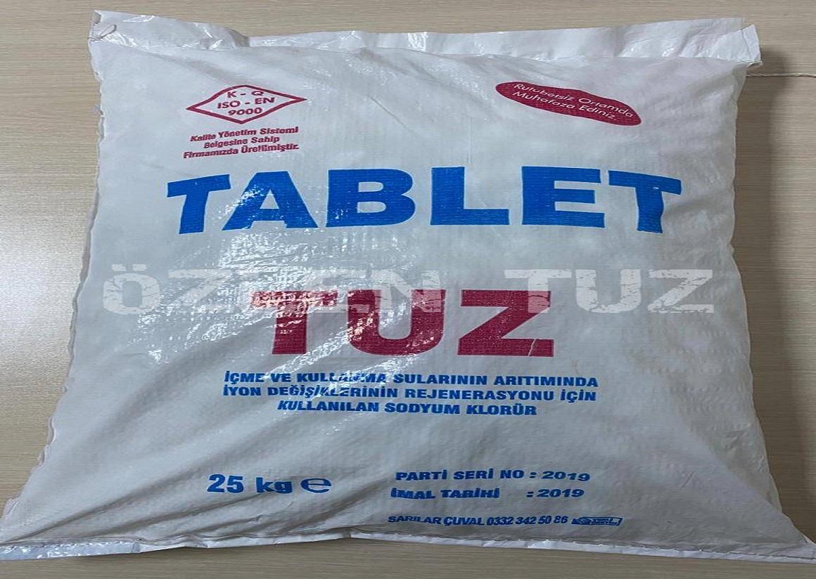 25 KG'LIK MEKANİK TABLET TUZ